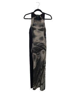 Vintage Goddess Statue Dress Jean Paul Gaultier - 1990s sheer