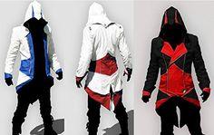 Mxnpolar Men's Cool Fashion Jacket Coat Hoodie (Black Red, 2XL), http://www.amazon.ca/dp/B00WFOORFI/ref=cm_sw_r_pi_awdl_7ahRvb6XB2X71