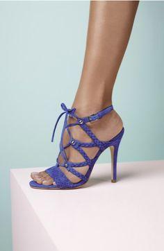 Eye-catching sophisticated high-heel sandals. Do you like it? Buy now: www.teelieturner.com #fashion