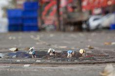 "Slinkachu ""Global Model Village"" Exhibition @ Andipa Gallery and Broome Street Gallery | Hypebeast"