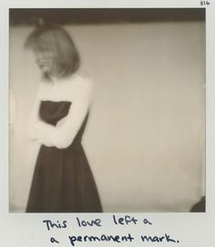 "Taylor Swift ""This Love"" 1989 polaroid 