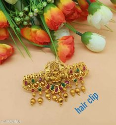 Hair Accessories Trendy Hair Clip For Women Material: Alloy Size: Free Size Description: It Has 1 Piece Hair Clip For Women  Work: Stone & Beads Country of Origin: India Sizes Available: Free Size   Catalog Rating: ★4 (2566)  Catalog Name: Trendy Hair Clip For Women Vol 12 CatalogID_659853 C72-SC1088 Code: 761-4557888-