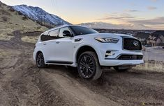 Infiniti Qx 80, Nissan Infiniti, Crossover, Lac Tahoe, Engine Stand, Hors Route, Six Models, Lexus Lx570, Traction Avant
