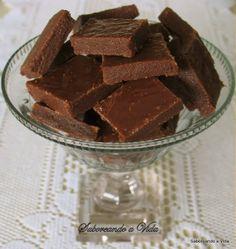 saboreando a vida: Docinhos de Chocolate e leite condensado, de Corte, e a minha Iresine