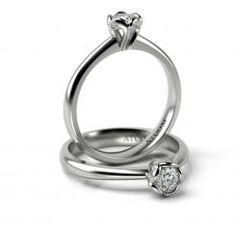 Inel de logodna cu diamante Vladislav din aur alb Aur, Gold Rings, Wedding Rings, Engagement Rings, Jewelry, Rose, Enagement Rings, Jewlery, Pink