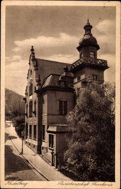 1932, Burschenschaft Frankonia Heidelberg Fraternity, Heidelberg