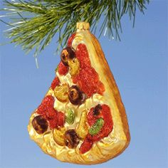 pizza bauble