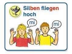 Silbenübungen im Anfangsunterricht mit ABC der Tiere: Alle Silben fliegen hoch