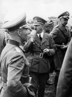 Adolf Hitler Photos and Historical Info — There's film and many photos of Hitler on this day...