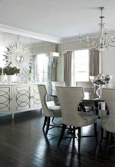 7 Glamorous Interior Design Ideas To Copy From Harper's Bazaar | Dining Room Ideas. Interior Design Inspiration. Home Decor. #diningroomideas #homedecor #interiordesign Read more: https://www.brabbu.com/en/inspiration-and-ideas/interior-design/glamorous-interior-design-ideas-harpers-bazaar-copy