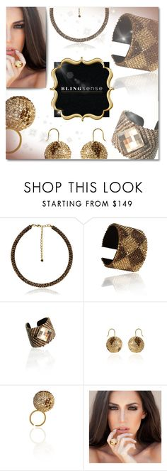 """""""Blingsense"""" by anilovic ❤ liked on Polyvore featuring blingsense"""
