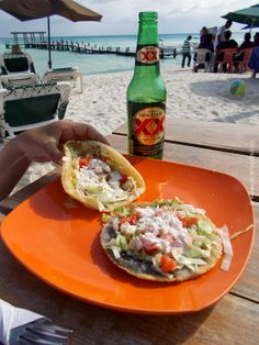 Sunday Snapshots: New Foods In My New Home | #salbutes #panuchos #YucatanFood #Mexico