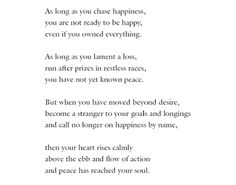 "Hermann Hesse, ""Happiness"""