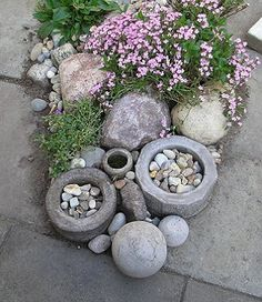 Lawn And Landscape, Landscaping With Rocks, Garden Projects, Garden Ideas, Outdoor Gardens, Veggie Gardens, Shade Garden, Flower Beds, Garden Styles