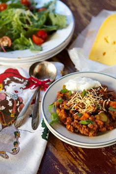 Cowgirl Elk Chili with Roasted Sweet Potatoes