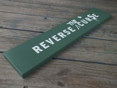 Boston Reverse The Curse Storrow Drive Sign by 406Concepts on Etsy