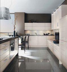küchenschrank küchenschränke design holz modern esstisch | Ideen ... | {Küchenschrank modern 45}