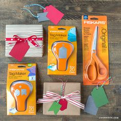 Win a Set of Fiskers Scissors and Tag Makers!