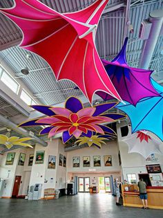 Fabric Structures & Architecture by Transformit - a beautiful & artistic addition to a display or event!