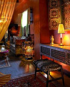 boho interior design | My Bohemian Lifestyle Moroccan interior of the Figueroa Hotel, Los ...