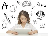 Picture of education, technology and internet concept - beautiful student girl playing with tablet pc stock photo, images and stock photography. Visual Thinking, Critical Thinking, 21st Century Skills, Gifted Education, Special Education, Vocabulary Activities, Teacher Blogs, Tablets, Online Gratis