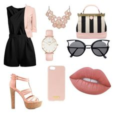 """""""Untitled #81"""" by lychavarria on Polyvore featuring Charlotte Russe, CLUSE, Henri Bendel and Lime Crime"""