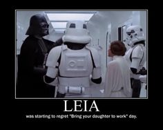 """was starting to regret 'bring your daughter to work"""" day"""