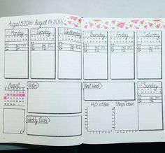 Breathtaking. | 25 Satisfying Bullet Journal Layouts That'll Soothe Your Soul