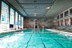 Piscina Olimpica, Complesso natatorio, Foro Italico, Roma - Enrico Del Debbio