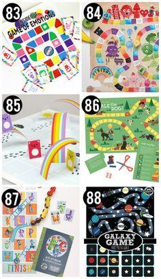 Free Printable Games for Kids 다양한 프린트 겜아이템