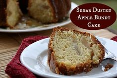 Lucky Leaf Sugar Dusted Apple Bundt Cake