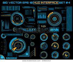 Game Ui Design, Ux Design, Graphic Design, Applications Mobiles, Spaceship Interior, Science Fiction, App Design Inspiration, Dashboard Design, User Interface Design