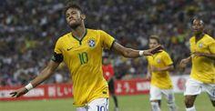 """""""Muito feliz por tudo ter dado certo"""", diz Neymar após goleada contra o Japão"""