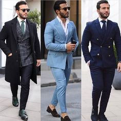 1, 2, 3? Choose your favorite look! #gentwithclassicstyle