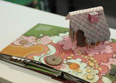 Pop up book - Hansel and Gretel by Tlu Casaukhi, via Behance