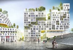 Galería de SeARCH gana concurso residencial en París - 2