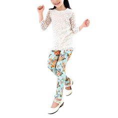 Baby Printing Flower Toddler Baby Girl Leggings //Price: $9.95 & FREE Shipping //     #legginsonline