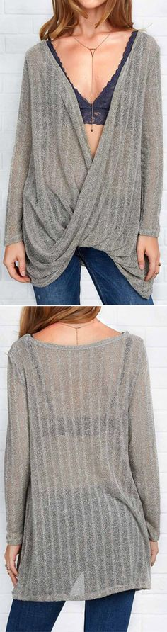 A chic Irregular Top? Yes, please! $19.99 & free shipping! This one is super comfy, casual & it has an unique front design! It's pretty and practical.