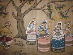 Manipuri dance scene