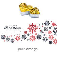 Desde Puro Omega queremos desearos una Feliz Navidad. Recuerda tomar tu suplemento de Omega 3 que ayudará a mejorar tu salud estas Navidades. ❤️