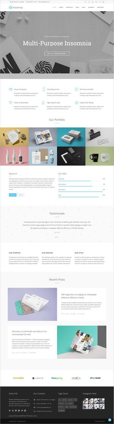 Insomnia is a Beautiful and Modern Creative #WordPress #Theme for multipurpose #corporate websites with 18+ stunning homepage layouts download now➩  https://themeforest.net/item/insomnia-beautiful-and-modern-creative-wordpress-theme/16256975?ref=Datasata