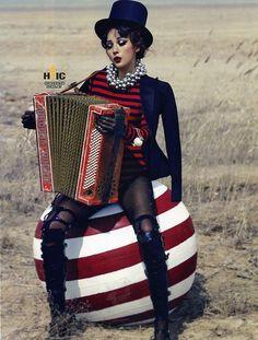 Lee Hyori - Vogue Magazine May Issue '13