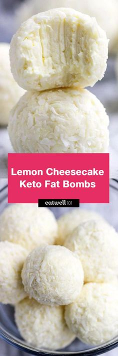 Lemon Cheesecake Keto Fat Bombs - These low carb, keto fat bombs are an easy, no-bake frozen treat you can make with simple ingredients. Keto Fat, Low Carb Keto, No Carb Diets, Ketogenic Recipes, Low Carb Recipes, Low Carb Desserts, Dessert Recipes, Cooking Broccoli, Keto Bombs