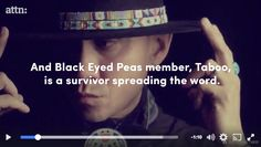 Taboo from Black Eyed Pea talks about his experience with #Cancer affecting your body as well your mind - Bep @TABOOBEP @Bep