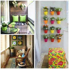 C mo crear un jard n vertical para terrazas o balcones - Como decorar un jardin pequeno ...