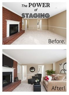 Staging is a powerful tool in any good listing agent's sales process...it helps homes sell faster, and for more money.