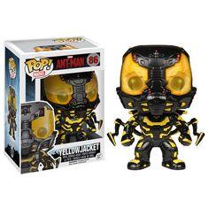 Marvel Ant-Man POP Yellow Jacket Vinyl Bobble Head Figure
