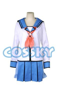 Hey, I found this really awesome Etsy listing at https://www.etsy.com/uk/listing/220200259/angel-beats-shiina-cosplay-costume