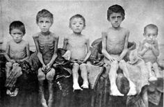 "Ukrainian children affected by Stalin's forced famine-genocide In Berdyansk - Holodomor is the Ukrainian word for ""killing by hunger."" It is now the proper term for Josef Stalin's forced starvation genocide against Ukraine from 1932 to Ukraine, Russian Revolution, Communism, Phnom Penh, Soviet Union, Union Européenne, Human Rights, Karl Marx, Light In The Dark"