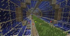 After seeing that underwater railway posted here, I thought I'd show you guys part of a railway that we use on a world that's entirely underwater